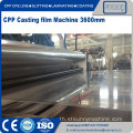 CPP CPE Multilayer Co-Extrusion Cast ฟิล์มไลน์