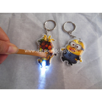 Led promotional key chain