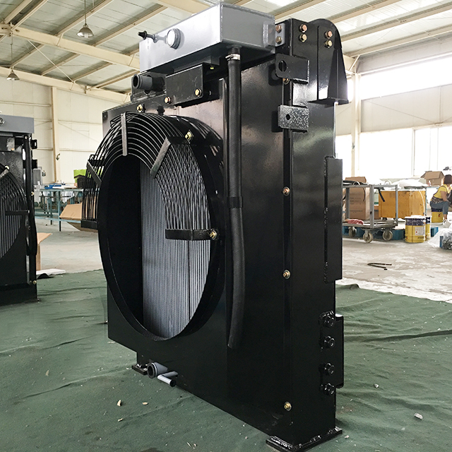 Oil Water Heat Exchanger