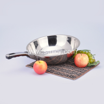 Eco Friendly Kusina Long Hawak Stainless Steel Pan