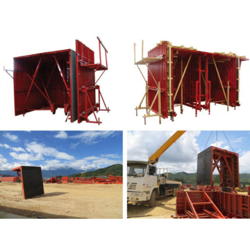 Convenient Operation Simple Tunnel Lining Formwork System
