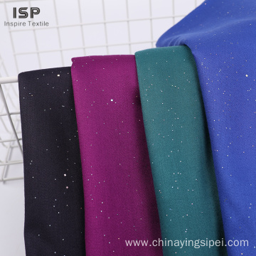Popular modern design soft dyed rayon satin fabric