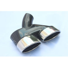 Dual Outlet Exhaust tail pipe tips