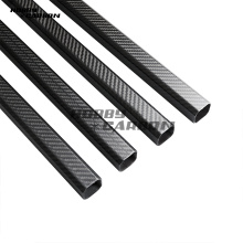 Carbon fiber square bututu 20mm