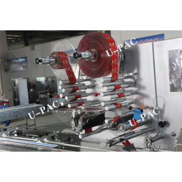Automatically Chocolate Flow Wrapping Machine