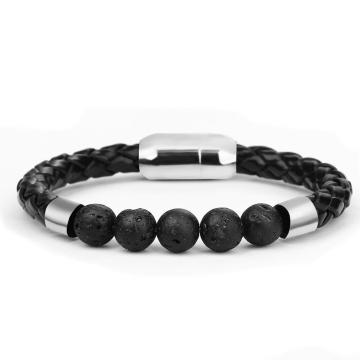 New Product Men's Natural  Healing Stone Magnetic Bracelet