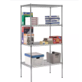 Easy Assembly  Chrome Wire Showing Shelf