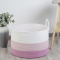 Low price eco friendly basket durable woven laundry desktop sundry jute storage Compatible products