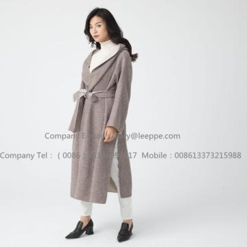 Long Pug Women Cashmere Coat