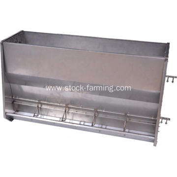 Double Side Pig Feeder with Stainless Steel