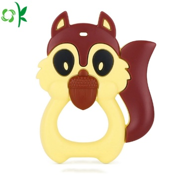New Products Animal Shape Baby Silicone Teether