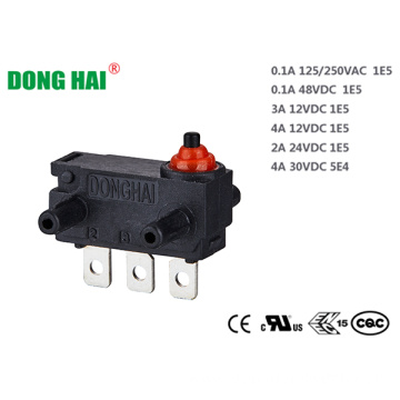 Dustproof Mini Type Switch Backdoor Locking Switch