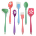 Amazon best silicone multi color baking utensil set