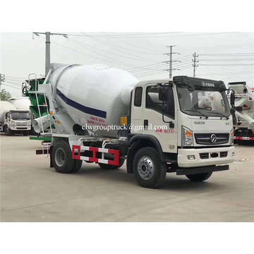 Mixer truck with Yuchai 160 hp engine