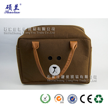Top quality customized design felt tote bag