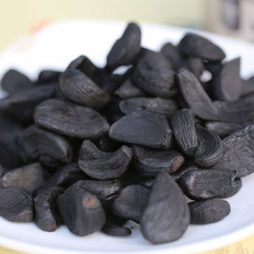 Snack Vitamin Rich Food Organic Peeled Black Garlic