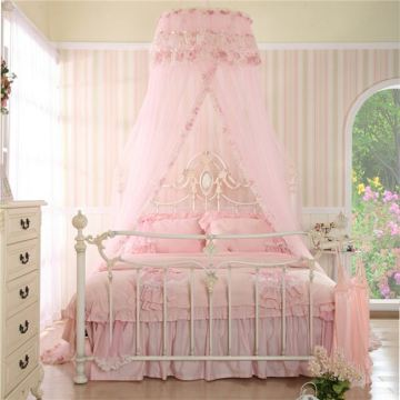 wholesale rectangular baby bed with cradle mosquito net