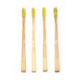 4 Pack Bamboo Toothbrush Travel Set