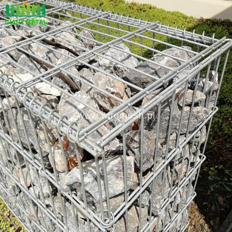 High quality galvanized welded wire mesh/gabion cage factory