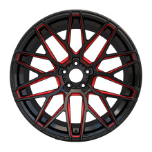 Alloy Aftermarket Turck Rim 20X9.5 Red Milled