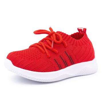 Fashion Breathable Non-Slip Light Kid's Running Sport Shoes