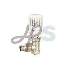 Angle type brass thermostatic radiator valve