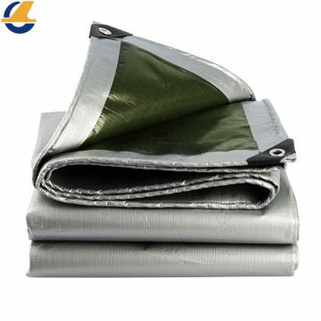 Reinforced Plastic Silver Poly Tarps Recyclable
