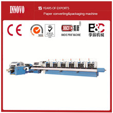 Automatic saddle stitcher book stitching line