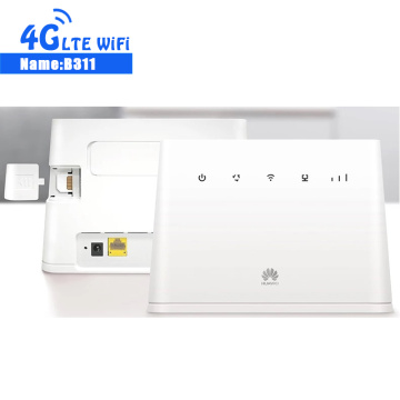 Original 150Mbps Huawei B311 B311AS-853 4G LTE CEP WiFi Network Router With VPN Function