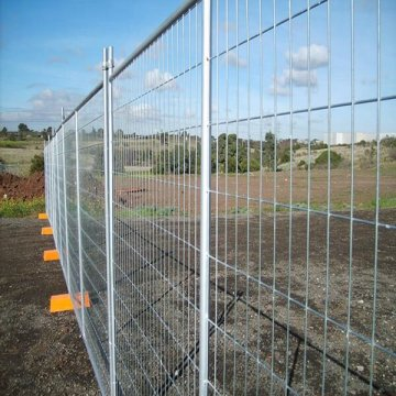 Used temporary fence panels Welded Wire Mesh Fence