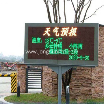 Led Text Display Board Panel For Car