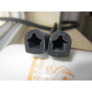 EPDM Foam Spong Star Shaped Sealing Strips