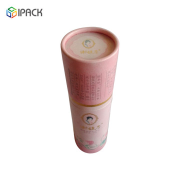 Wholesale Daily Gift Paper Beauty Packaging Tube Box
