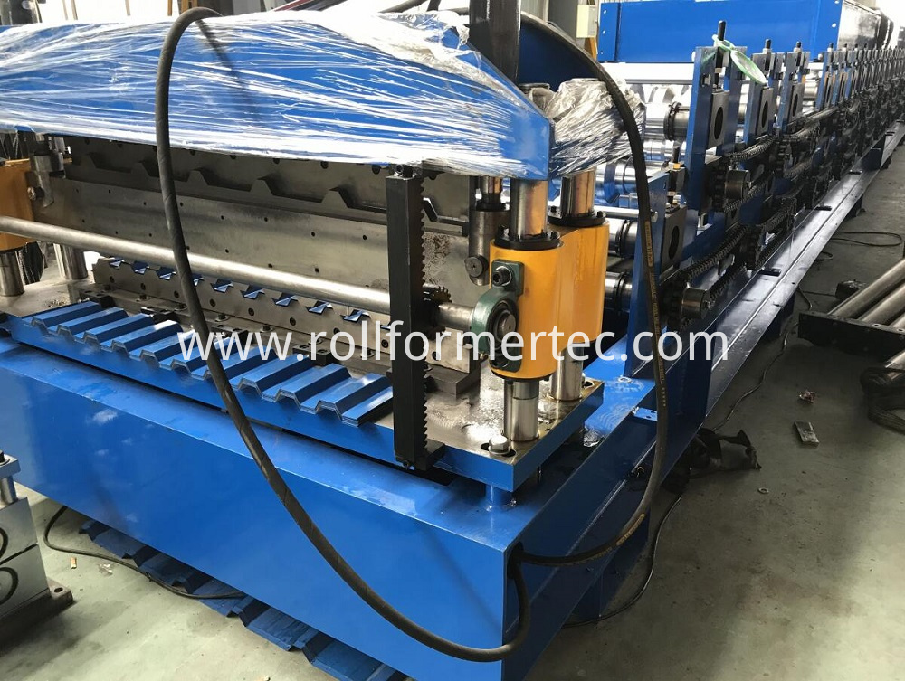 double layer roofing panel rollforming line (6)