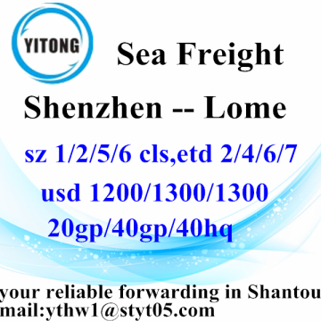 Shenzhen Logistics Services to Lome