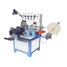Cutting label and folding machine