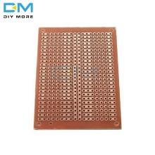 5PCS Lot universal 5x7cm Wholesale Universal Bakelite HB Rubber Sheet Hick Joint Hole Board 5*7 Multi-function Experiment Board