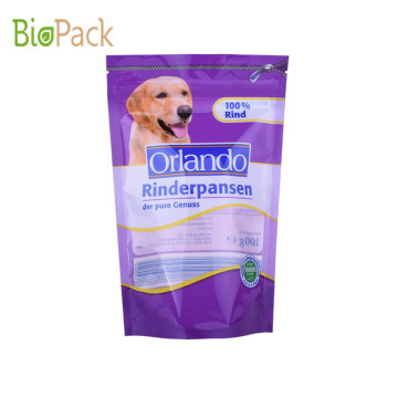 Side Gusset Top Pet Food Packaging Bag 5~10kg