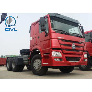 10 Tires Howo 6X4 371Hp Tractor  Trucks