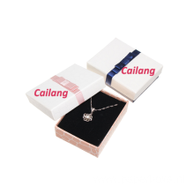 Custom 2PCS Jewelry Necklace Gift Paper Boxes