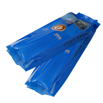 Custom Printing Plastic Side Gusseted Back Seal Bags