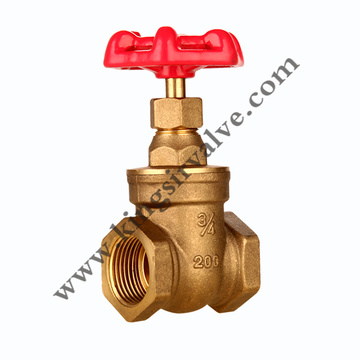 FORGED BRASS GATE VALVE