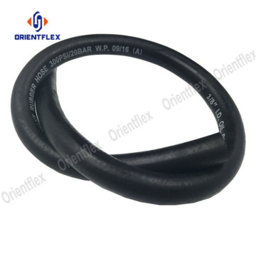 Black NR/SBR material high temperature oil rubber hose