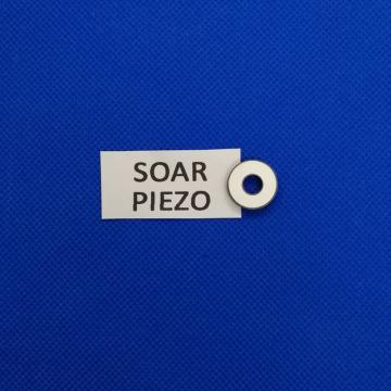 Piezoelectric Ring 16*6*2.5mm-PZT8 Piezo Ceramic Crystal Bolt-clamped Ultrasonic Transducer Biodiesel Mixing Sensor