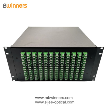 5U 288 Cores LC Duplex  Fiber Optic Termination Box Patch Panel