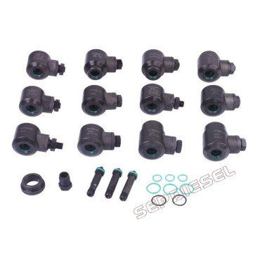Common Rail Injector 12pcs Short Adaptors Tool Box