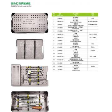 Orthopaedic Implants DHS DCS bone plate Instruments sets