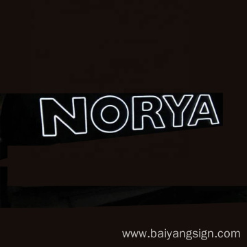 Design customized logo LED Flex Neon light led neon light letters