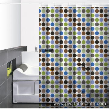 Society 6 Waterproof Bathroom printed Shower Curtain