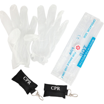 Wholesale Factory High Quality CPR Keychain Mask Kit